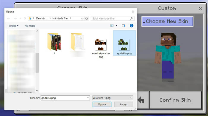 how-to-install-minecraft-pe-skins-windows-10-edition-4